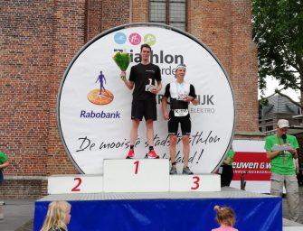 Bodegraafse triatleten winnen Triathlon Woerden