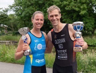 Nadine Naaijkens en Ferdinand Oldeman TTB clubkampioenen 2019