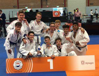 Judoka Storm van Dijk prolongeert landstitel met team!