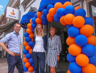Rabobank in de Brugstraat geopend