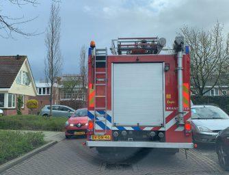 Brand bij Hooge Burch in Zwammerdam