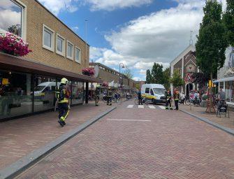 Mogelijke gaslekkage Kerkstraat Bodegraven