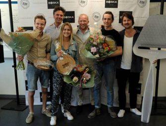 Matthijs Bakker wint Boska Design Award voor TU Delft studenten