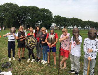 Ridderfeest als afsluiting feestjaar 50 jarig bestaan Pr. Beatrixschool