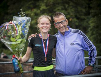 Verrassende derde plaats voor Tirza van der Wolf op het NK 5000 meter