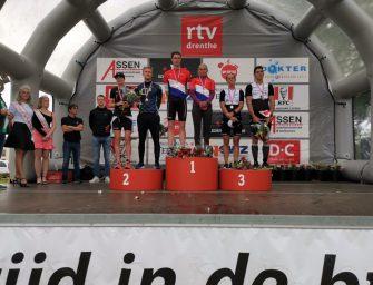 Sven Strijk Nederlands Kampioen middenafstand triathlon