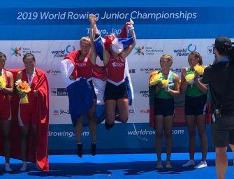 Lisa Bruijnincx en Fien van Westreenen wereldkampioen meisjes dubbel twee