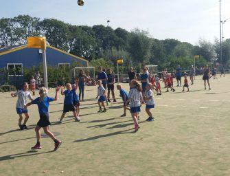 Korfbal toernooi F- en E-jeugd geslaagd