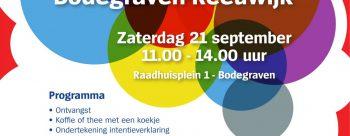 Alzheimerdag: Samen bewegen naar een dementievriendelijk Bodegraven-Reeuwijk