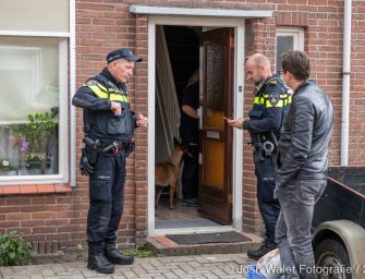 Drie verdachten aangehouden na vondst harddrugs in woning