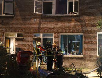 Middelbrand woning in Bodegraven