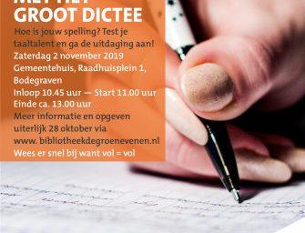 Groot Dictee in Bodegraven-Reeuwijk