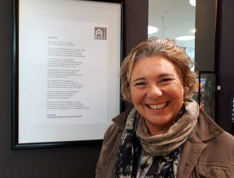 Gedicht EVERTSHUIS krijgt prominente plek in foyer