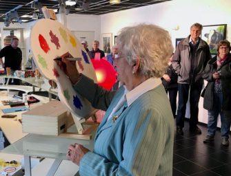 """Opening nieuwe expositie """"de meester en zijn leerlingen"""" trekt veel belangstellenden"""