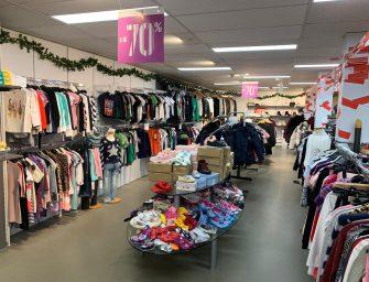 Vrijdag, zaterdag en zondag 70% korting op kleding bij Daans Shop