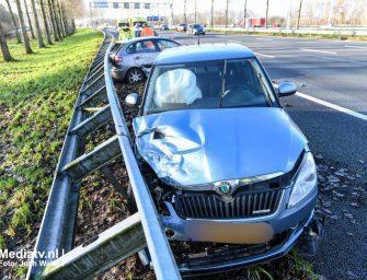 Twee gewonden na ongeluk op de A12 bij Reeuwijk