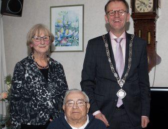 Piet en Bea Bekker uit Bodegraven 60 jaar getrouwd