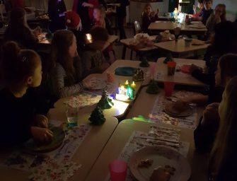 Kerstfeest op de Da Costaschool
