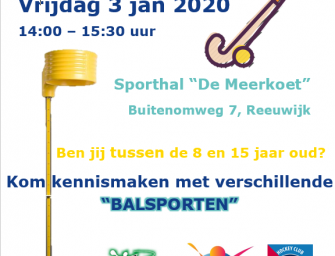 Sport Try Out bij Buurtsportcoaches
