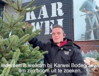 Winnaars Kerstbomen actie bij Karwei Bodegraven