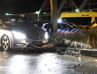 Eenzijdig ongeval in Reeuwijk