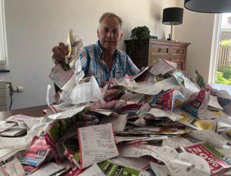 BOV Actie: 'Hierrr met je kassabon'