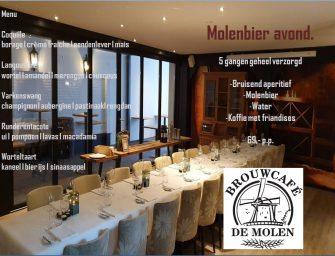 Molenbier avond Bij Robbert met biertjes van Brouwcafé De Molen