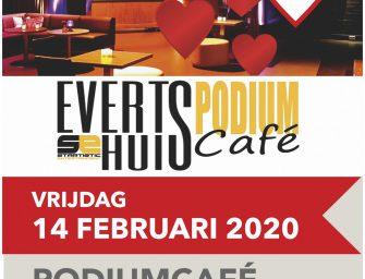 Valentijnseditie Evertshuis Podiumcafé