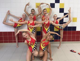 Lieke (BZ&PC) wint goud op Vlaams kampioenschap synchroonzwemmen