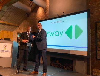 Bizway wint Security Award