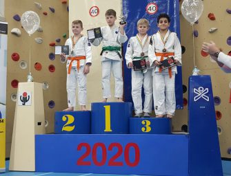 Judoka's Goederaad op 40e Vlaardings Judotoernooi