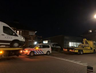 Inval in oude timmerfabriek in Bodegraven