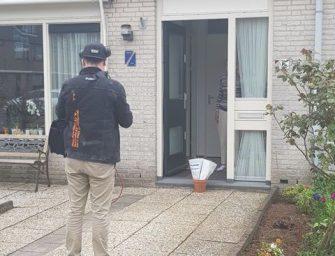 Q-Music bezorgt bloemen bij oma Vivian en Céline in Reeuwijk