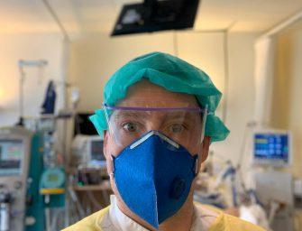"""IC-verpleegkundige uit Bodegraven: """"De omstandigheden zijn zwaar"""""""