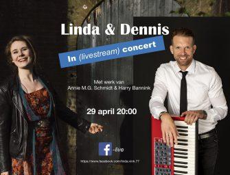 Linda & Dennis in livestream concert