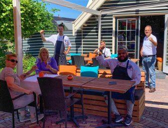 Restaurant 't Vaantje in Reeuwijk: Blij en gespannen voor 1 juni