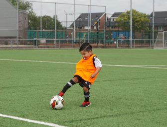 CVC Reeuwijk start met welpenvoetbal voor de allerjongsten