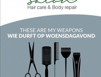 Woensdagavond wordt onze nieuwe koopavond bij Pura salon uit Bodegraven