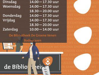 Bibliotheek Bodegraven ook 's avonds weer open