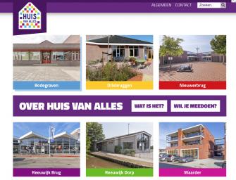 Het Huis van Alles heeft een nieuwe website!