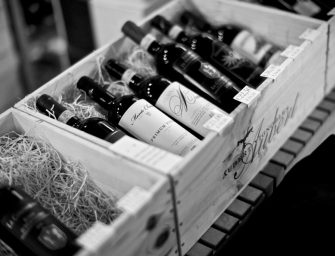 Wijnproeverij bij restaurant Bij Robbert in Bodegraven