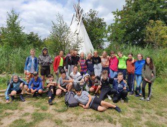 Groep 8 van de DaCosta school toch op kamp!