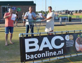 BAC en CKV Reeuwijk verlengen het sponsorcontract met 3 jaar.
