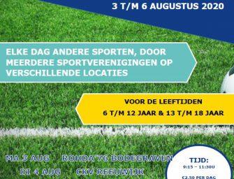Sportweek van de buurtsportcoaches!