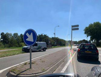 Grote drukte richting Reeuwijkse Plassen