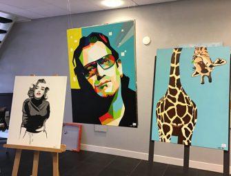 """Expositie kunstschilder Leo van den Boogaard staat er """"nog heel even"""""""