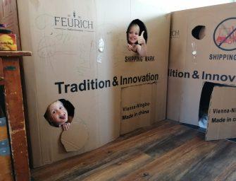 Bouwpakketten van Speelweek Nieuwerbrug zijn afgeleverd bij de kinderen!