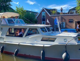 André van Duin en Janny van der Heijden meren aan in Bodegraven-Reeuwijk