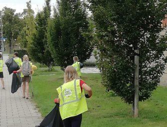 De Pr. Beatrixschool werkt aan een schone wijk!