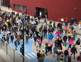 Honderdenschoolkinderen uit Bodegraven-Reeuwijk doen mee aan de Jerusalema-Challenge